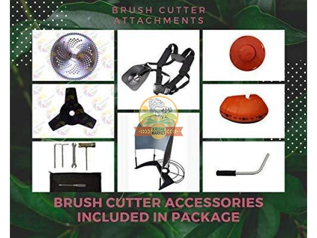 Rockstar Brush Cutter 52cc for crop harvesting - 3/4
